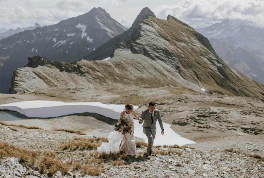 Fog Peak Wanaka Wedding